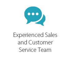 Experienced Sales & Customer Service Team